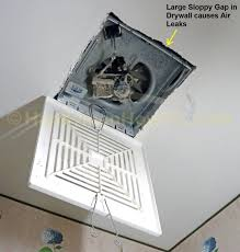 How To Install A Panasonic WhisperCeiling Bathroom Vent Fan - Bathroom venting into attic