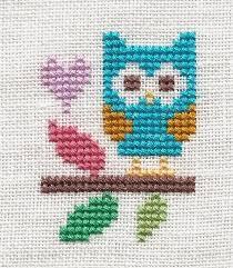 Owl Cross Stitch Pattern Enchanting Owl Cross Stich Kanaviçe Nakışları Pinterest Owl Cross Stitch