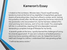 final wacac let the year old voice emerge strategies to hel jb 3 kameron s essay