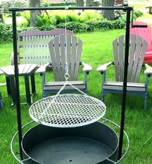 fire pit grill table combo round fire pit grill outdoor fire pits and accessories orig fire
