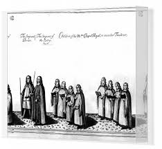 Choristers at the coronation procession of James II, 1685 #7233707