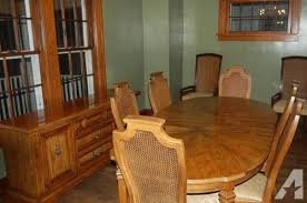 Stanley Furniture 40 Piece Dining Room Set For Sale In Castle Custom Stanley Furniture Dining Room Set