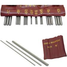 Details About Thread Measuring Wire Set Of 48 Wires In 16 Different Sizes