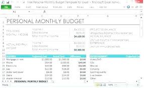 Personal Monthly Expense Report Template New Excel Monthly Spending Template Experiencenow