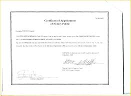 Samples Of Notary Letters Free Notarized Letter Template Notary Form Professional Templates