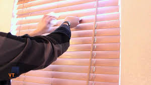 clean wooden blinds easy way designs