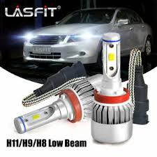 Details About Lasfit H11 Led Headlight Bulb For Honda Accord 2008 2018 Pilot 2006 2019 6000k
