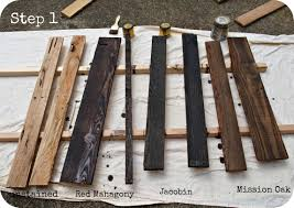 Wood Looking Paint How To Age Wood With Paint And Stain Simply Swider