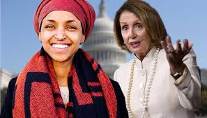 Image result for nancy pelosi and ilhan omar