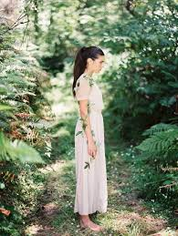 simple houghton nyc wedding dress shot by erich mcvey via oncewed