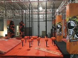 A 37 000 Square Foot Trampoline Park Complete With A Ninja Warrior