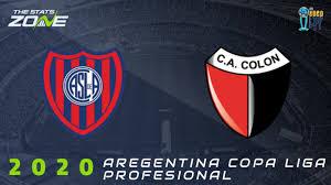 2020 Copa Diego Armando Maradona – San Lorenzo vs Colon Preview &  Prediction - The Stats Zone