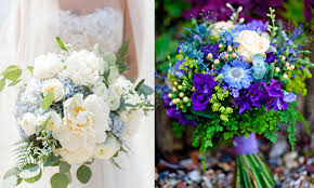 Purple and green wedding colors Wedding Inspiration Do Not Think You Will Be Able To Choose Any Other Color For Your Wedding After Looking At These Bouquets Just Look How Amazing They Are Womens Style Fresh And Modish Blue Green Wedding Colors Everafterguide