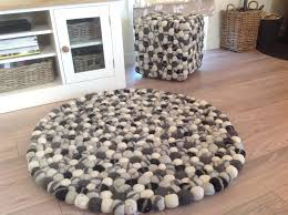 large size of cream and black bathroom rugs round felt ball cream and black moroccan rug