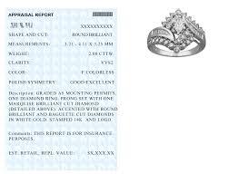 full appraisal certificate