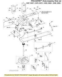 fisher pro caster chute parts fisherprocasterchute0126 jpg