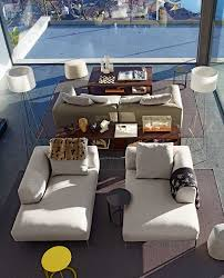 living room furniture chaise lounge. Wonderful And Creative Modern Living Rooms Design Ideas Collection : Spiffy Room Style With Cream Furniture Chaise Lounge