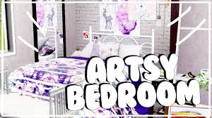 Sims 3 Bedroom Decor The Sims 3 Interior Decorating Artsy Bedroom Youtube