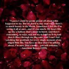 American Beauty End Quote Best Of 24 Best AMERICAN BEAUTY Images On Pinterest Movies Movie Tv And