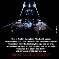 Darth Vader Quotes Magnificent What's Your Excuse Music Movies Books And TV Pinterest
