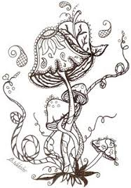 Small Picture 83 best Mushrooms Toadstools Coloring Pages for Adults images on