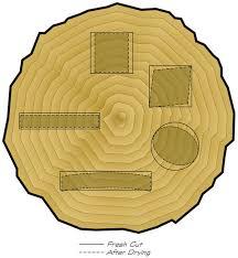 Wood Movement Chart Wood Movement
