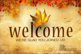 Image result for welcome fall images