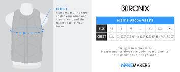 Ronix Wakeboard Size Chart Ronix Life Jacket Size Chart Daeminteractive