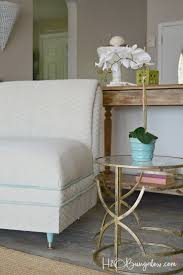 painting fabric furniturePainted Upholstered Chair Makeover Tutorial  H20Bungalow