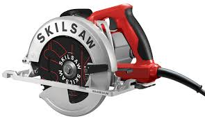skilsaw circular saw. skilsaw just announced the new southpaw \u2013 a left blade 7-1/4\u2033 sidewinder circular saw. saw