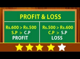 Loss And Profit Form Gorgeous Math Lessons Learn About Profit Loss YouTube