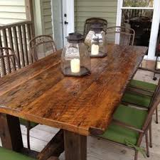 barnwood furniture for sale. Reclaimed Trestle Table By Matthew Elias And Barnwood Furniture For Sale