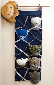 Unlimited Options for Storing and Organizing Hats // 18 Hat Organizing Ideas  for Summer/