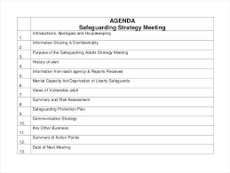Standard Agenda Agenda Call For Items Email Template Meeting Procedures Blackthough