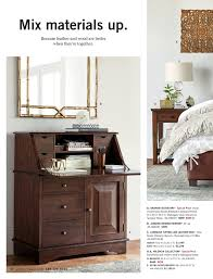 Pottery Barn Mirrored Furniture Pottery Barn Bed Bath Spring 2017 D2 Page 50 51