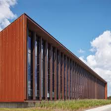 small office building designs inspiration small urban. Barkow Leibinger Clads Rust Belt Factory In Oxidised Steel Small Office Building Designs Inspiration Urban O