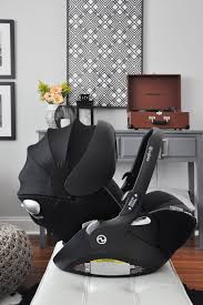 Preparing for Our Baby Girl: CYBEX Cloud Q Infant Car Seat