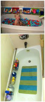 DIY Bathtub Surround Storage Ideas | Shower curtain rods, Bathtubs ...