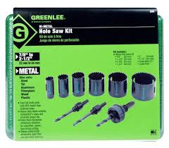 Greenlee Hole Saw Size Chart Www Bedowntowndaytona Com