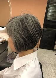 画像1つ目 40代50代60代ヘアスタイル髪型ショートボブの記事より