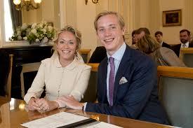 Mariage La Princesse Marie Gabrielle De Nassau Et Antonius Willms