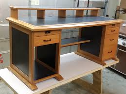 Desk Blueprints Corner Computer Plans Woodworking 2017 And Build Images  Ultimate