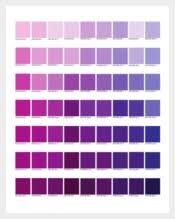 9 Pantone Color Chart Templates Free Sample Example