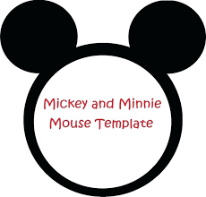 free minnie mouse invitation template mickey mouse head stencil new fresh party invitations templates