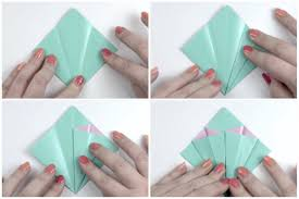 How To Make Origami Paper Flower Make An Easy Origami Lily Flower