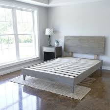 Bed Frames With Headboard Full Size Bed Frame With Headboard Low ...