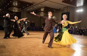 Amateur ballroom dance competition