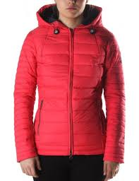 Barbour Landry Baffle Women's Quilt Jacket Red &  Adamdwight.com