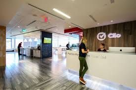 software company office. Headquartered In The Vancouver Suburb Burnaby, Co-founders Lead A 200 Person Company That Includes Offices Toronto Software Office I