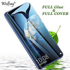 <b>2PCS Full Glue Cover</b> Tempered Glass Huawei Honor 8X 9 10 Lite ...